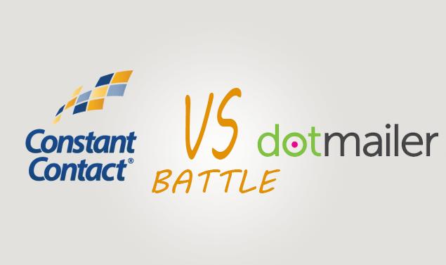 СonstantСontacе vs Dotmailer Comparison