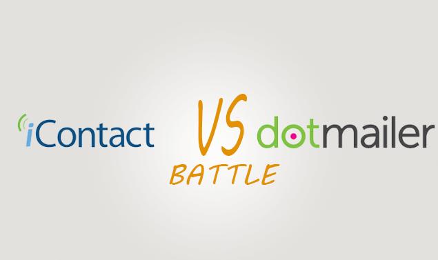 Icontact vs Dotmailer Comparison