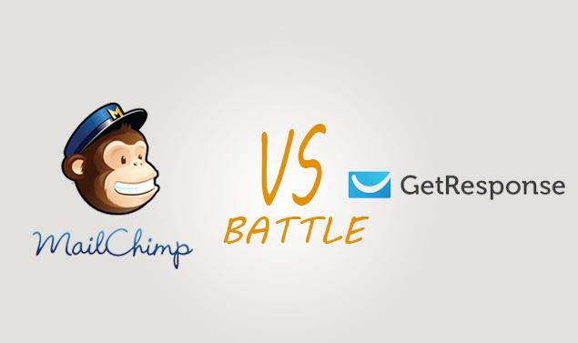 Mailchimp vs Getresponse Comparison