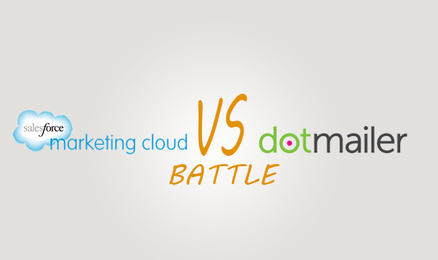 Salesforce marketing cloud vs Dotmailer Comparison