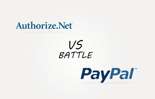 Avtorize.Net vs PayPal Comparison