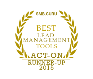 Act-on Best Lead Management tools