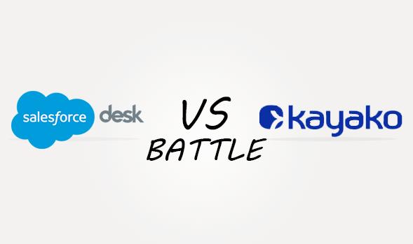 Salesforcedesk vs Kayaka Comparison