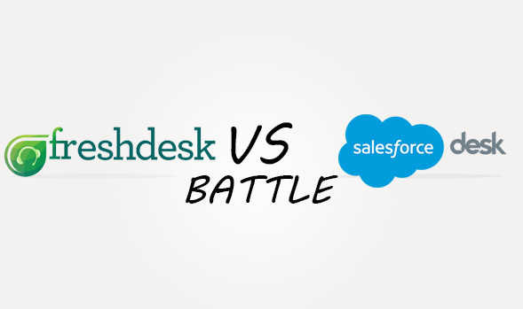 Freshdesk vs Salesforcedesk Comparison