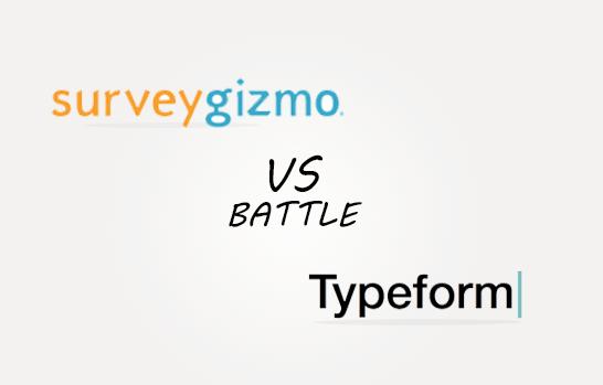 Surveygizmo vs Typesform Comparison