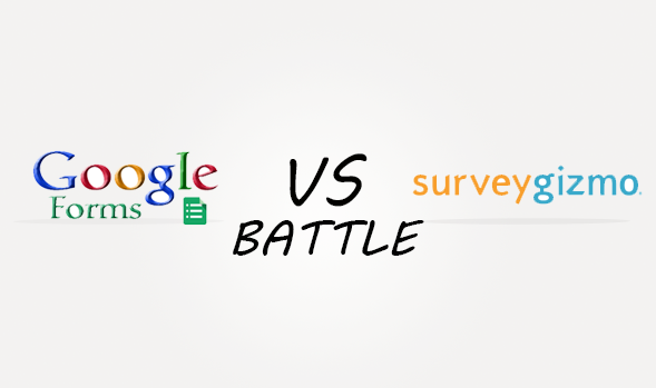 Googleforms vs Surveygizmo Comparison
