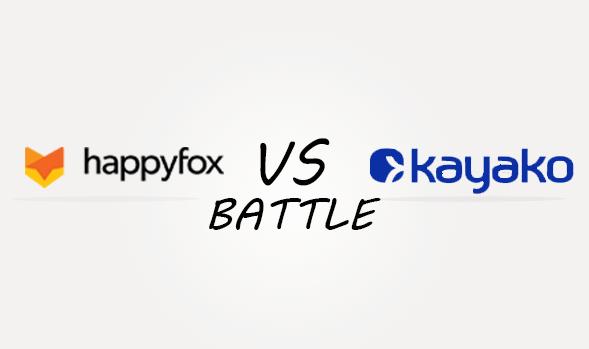 Happyfox vs Kayako Comparison