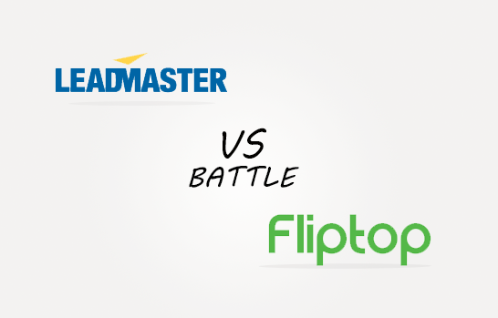 Leadmaster vs Fliptop Comparison