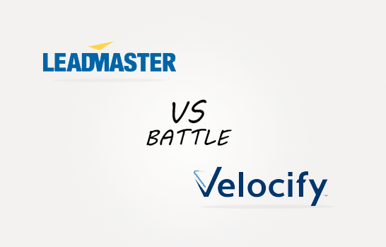 Leadmaster vs Velocify Comparison