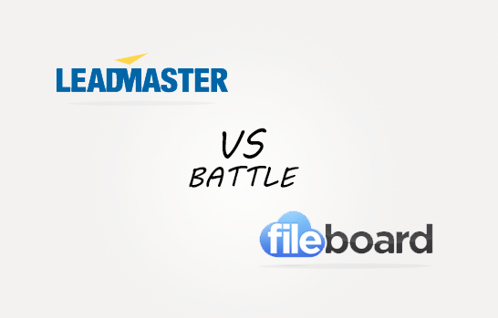 Leadmsaster vs Ffileboard Comparison