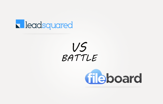 Leadsquarer vs Fileboard Comparison