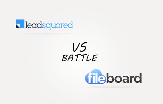 Leadsquarer vs Fileboard Comparison