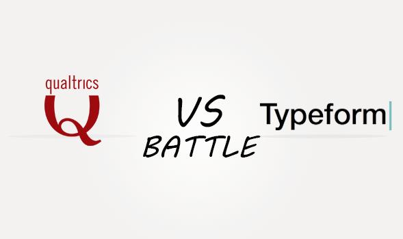 Qualtrics vs Typeform Comparison