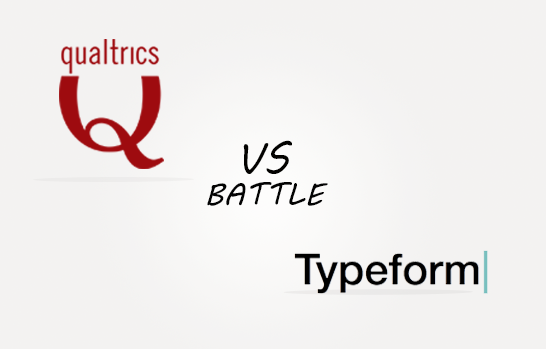 Qualtrics vs Typeforms Comparison