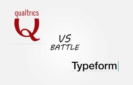 Qualtrics vs Typeforms Comparison