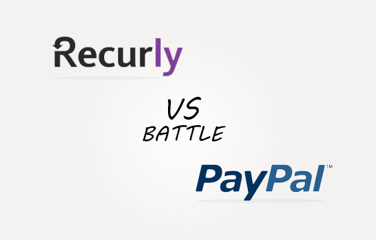 Recurly vs Paypal Comparison