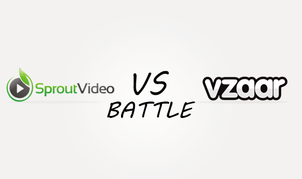 Sproutvideo vs Vzaar Comparison