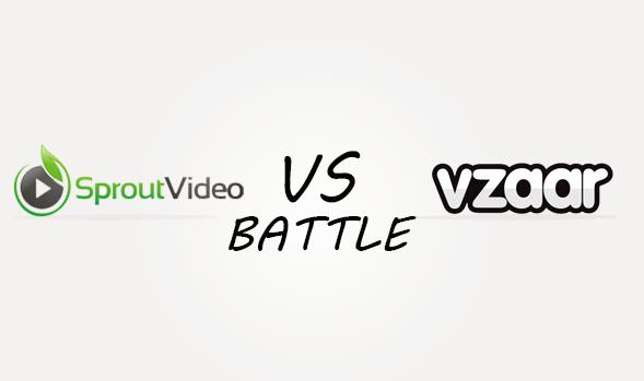 Sproutvideo vs Vzaar Comparison