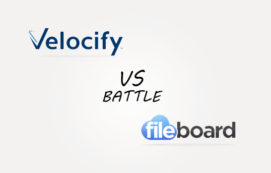 Velosify vs Fileboard Comparison