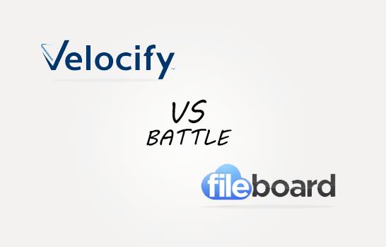 Velosify vs Fileboard Comparison