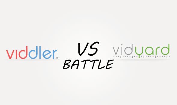 Viddler vs Vidyart Comparison