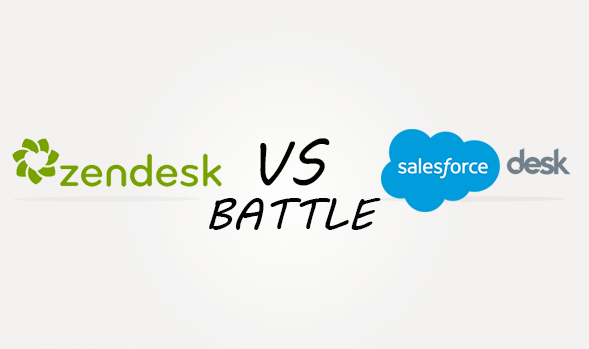 Zendesk vs Salesforcedesk Comparison