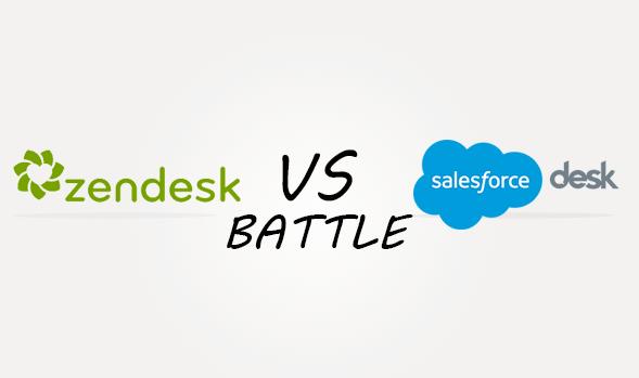 Zendesk vs Salesforcedesk Comparison