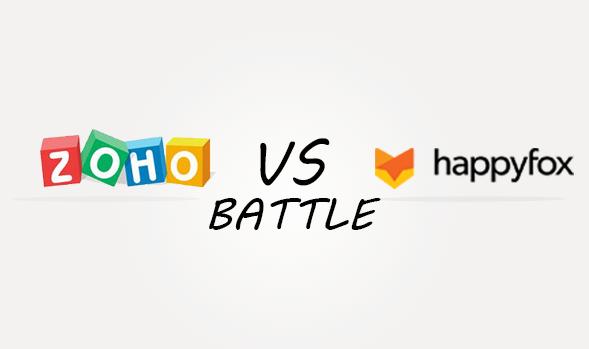 Zoho vs Happyfox Comparison