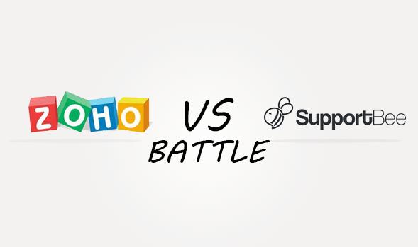 Zoho vs SupportBee Comparison
