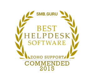 Zoho Support best helpdesk softwre