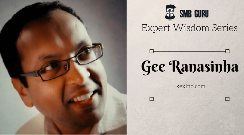 Gee Ranasinba SMB Guru expert